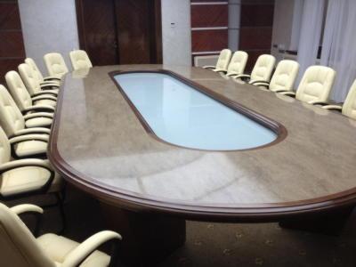 БПС-Сбербанк стол. Искусственный камень Corian  sonora