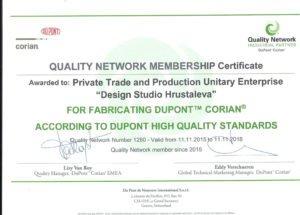 сертификат DuPont